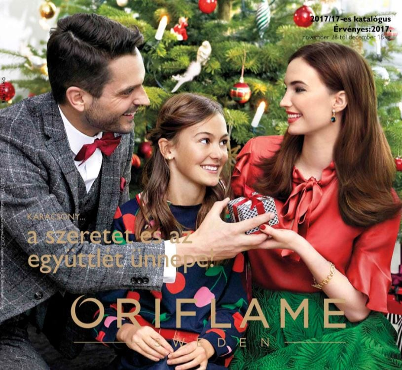 Oriflame Karácsonyi 17-es Katalógus 2017