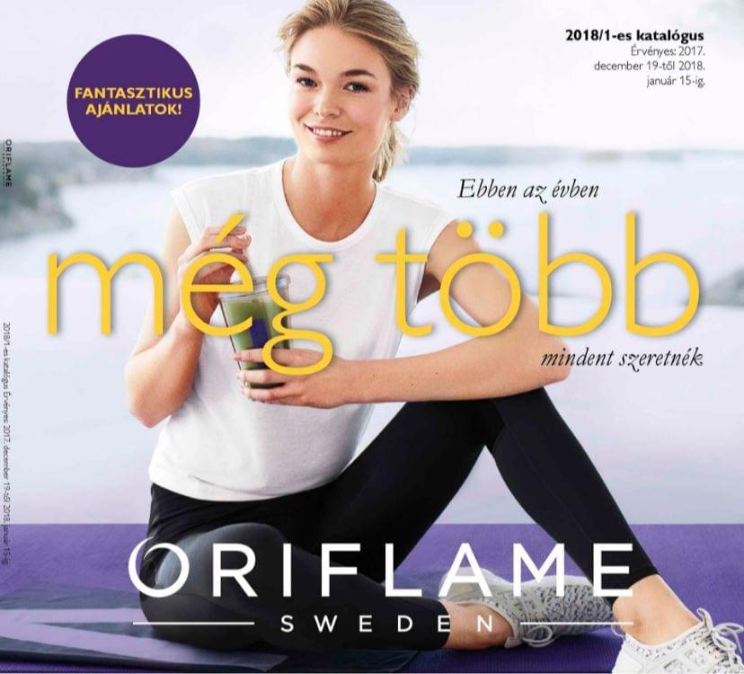 Oriflame 1-es Katalógus 2018 Január