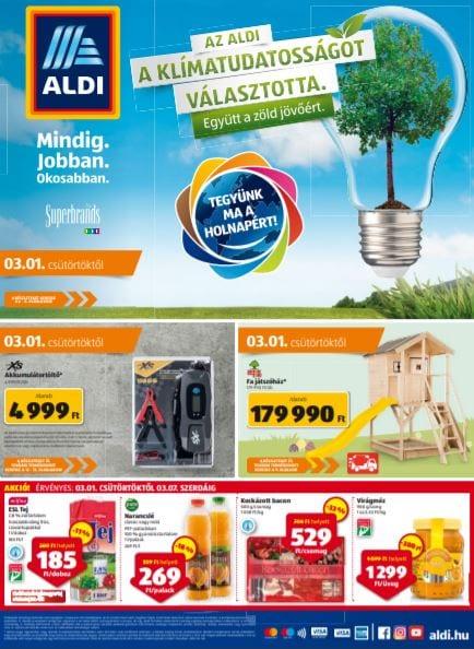ALDI Akciós Újság 2018. 03.01-03.07.