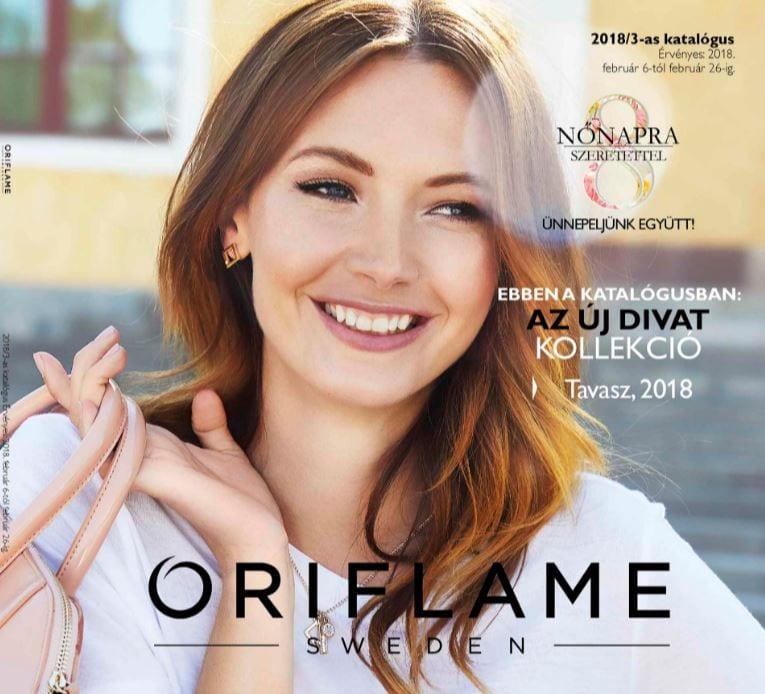 Oriflame 3-as Katalógus Február 2018