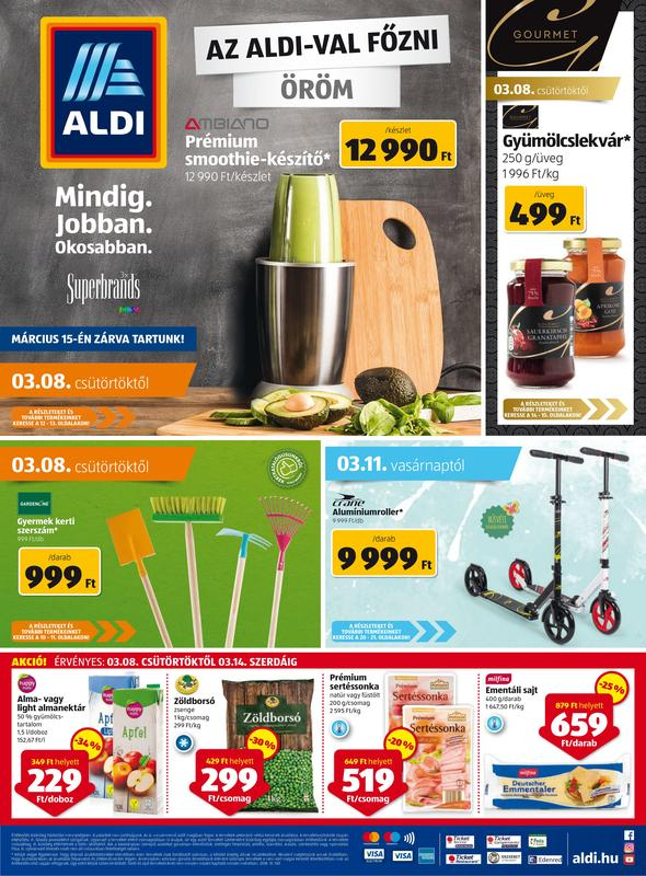 ALDI Akciós Újság 2018 03 08-03 14-ig - 01 oldal