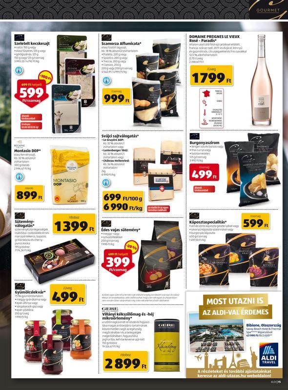 ALDI Akciós Újság 2018 03 08-03 14-ig - 15 oldal