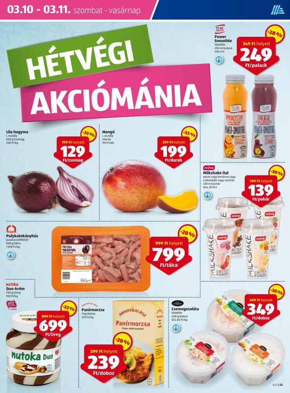 ALDI Akciós Újság 2018 03 08-03 14-ig - 23 oldal
