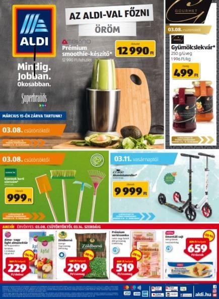 ALDI Akciós Újság 2018. 03.08-03.14-ig