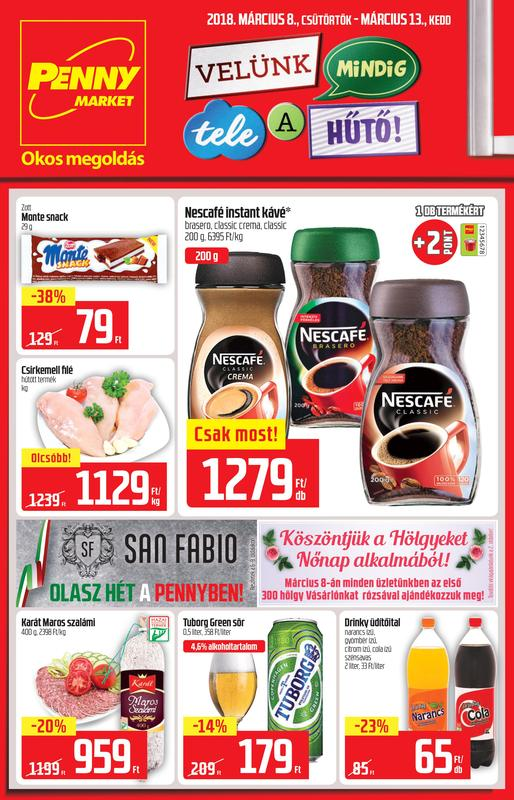 PENNY Akciós Újság 2018 03 08-03 13-ig - 01 oldal