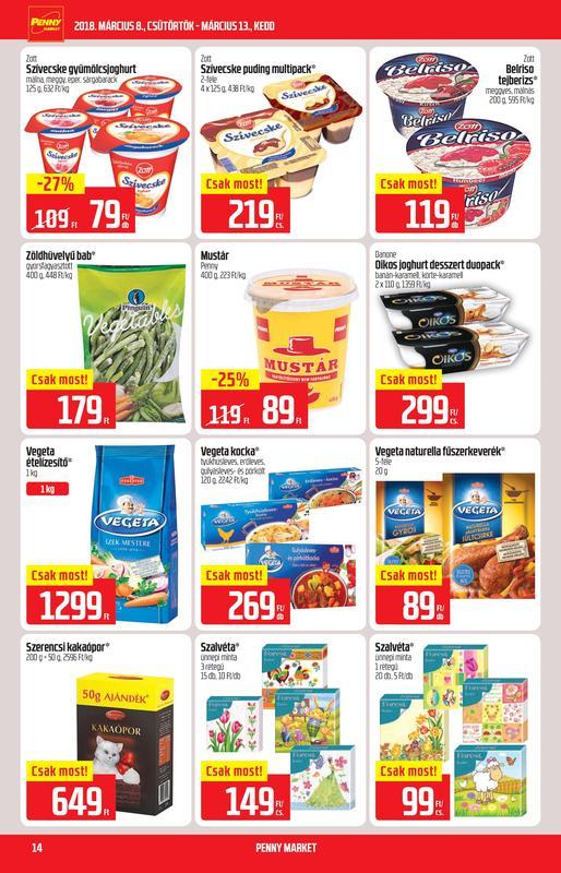 PENNY Akciós Újság 2018 03 08-03 13-ig - 14 oldal