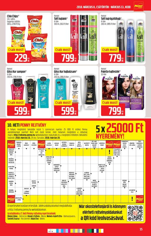 PENNY Akciós Újság 2018 03 08-03 13-ig - 15 oldal