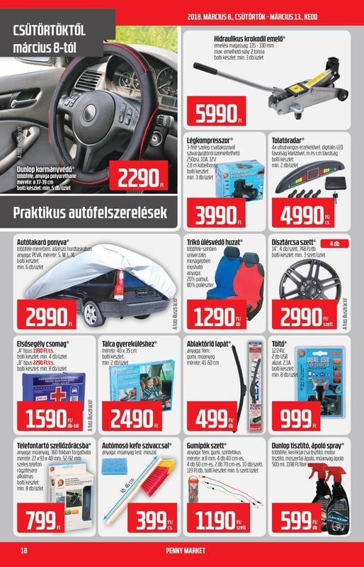 PENNY Akciós Újság 2018 03 08-03 13-ig - 18 oldal