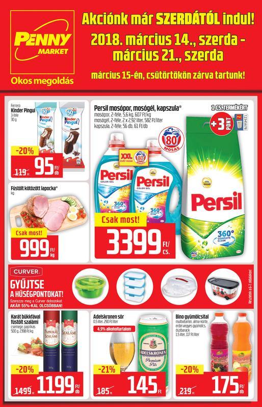 PENNY Akciós Újság 2018 03 14-03 21-ig - 01 oldal