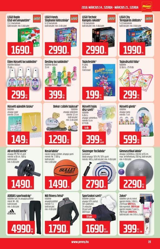PENNY Akciós Újság 2018 03 14-03 21-ig - 19 oldal