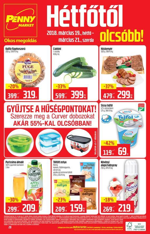 PENNY Akciós Újság 2018 03 14-03 21-ig - 20 oldal
