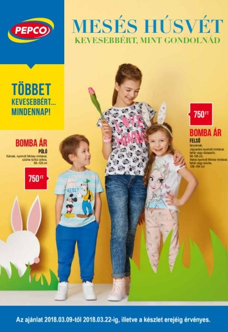 PEPCO Akciós Újság 2018. 03.09-03.22-ig
