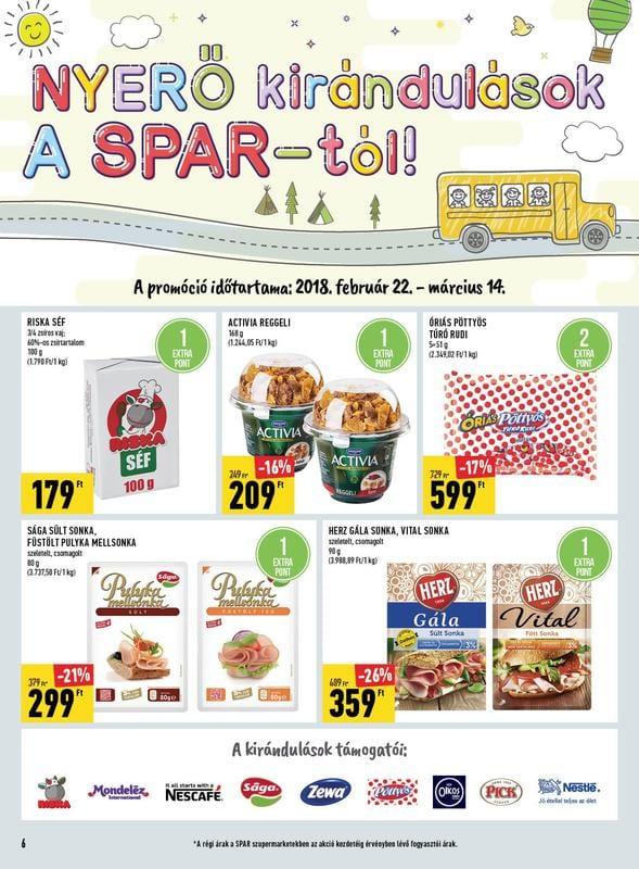 SPAR Akciós Újság 2018 03 08-03 14-ig - 06 oldal