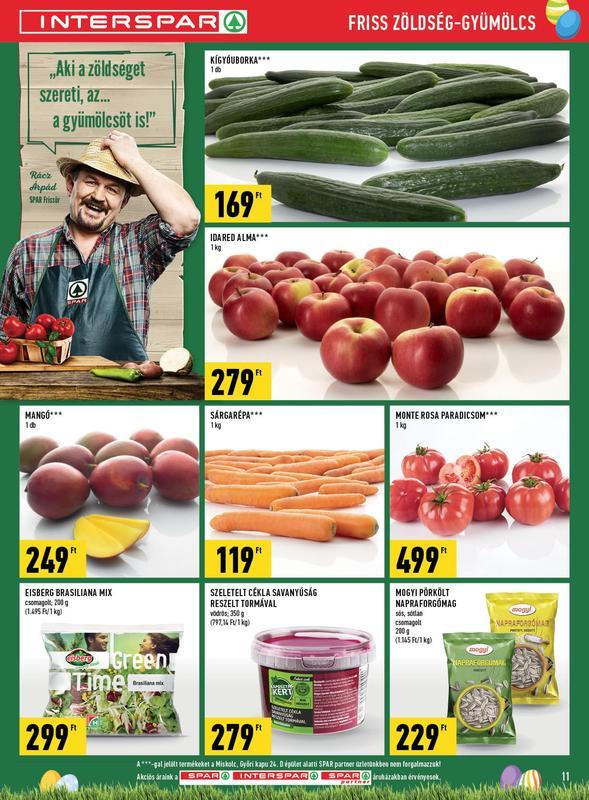 SPAR Akciós Újság 2018 03 08-03 14-ig - 11 oldal