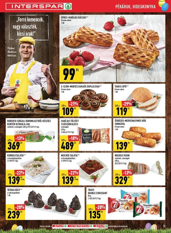 SPAR Akciós Újság 2018 03 08-03 14-ig - 13 oldal