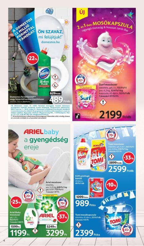 TESCO Akciós Újság 2018 03 01-03 07-ig - 04 oldal