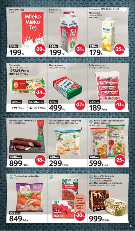 TESCO Akciós Újság 2018 03 01-03 07-ig - 17 oldal