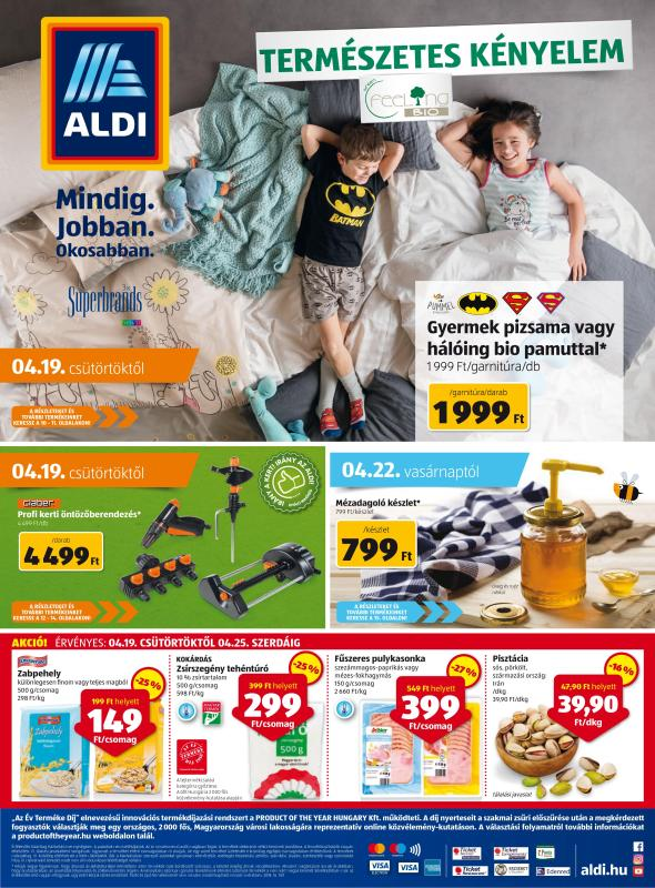 ALDI Akciós Újság 2018 04 19-04 25-ig - 01 oldal