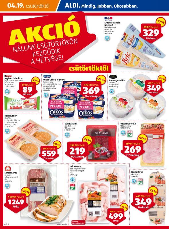 ALDI Akciós Újság 2018 04 19-04 25-ig - 02 oldal