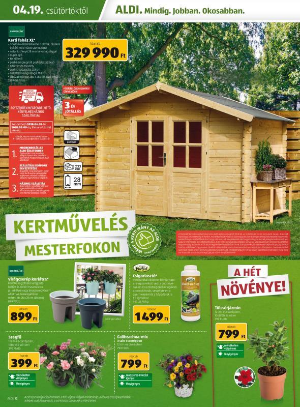 ALDI Akciós Újság 2018 04 19-04 25-ig - 12 oldal