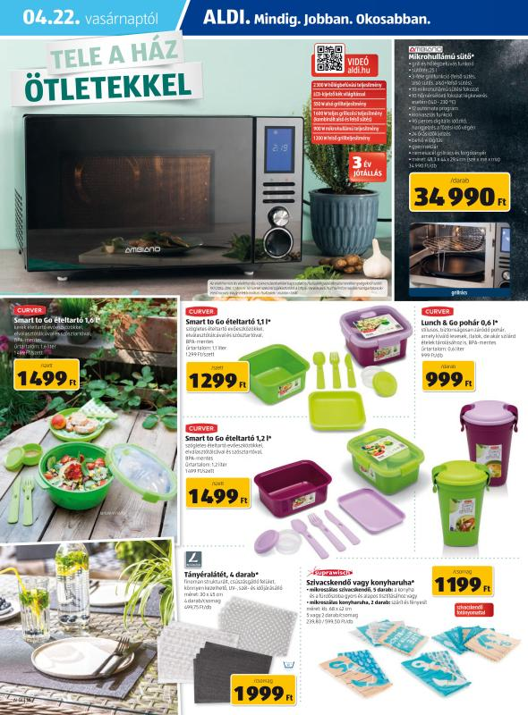 ALDI Akciós Újság 2018 04 19-04 25-ig - 16 oldal