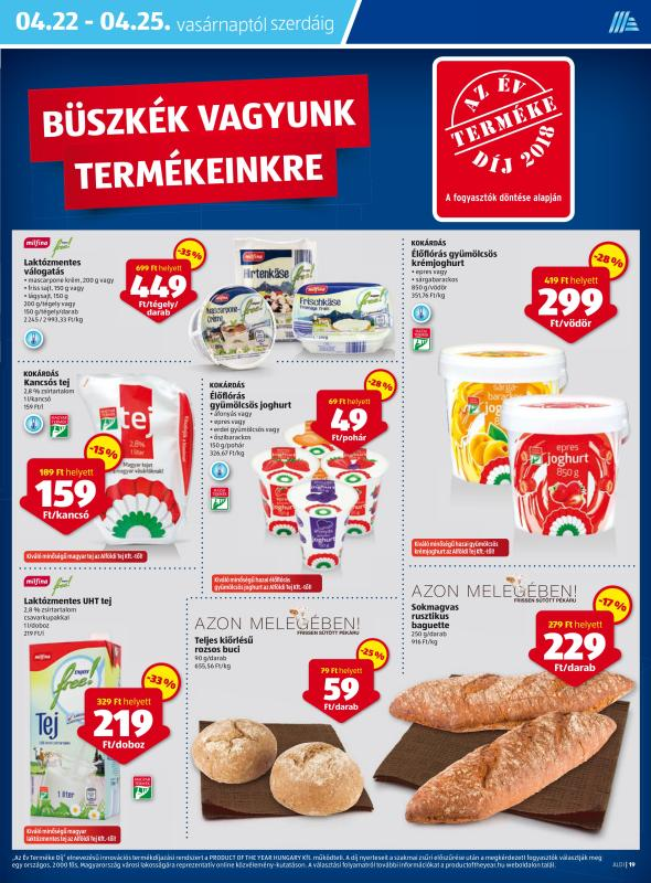 ALDI Akciós Újság 2018 04 19-04 25-ig - 19 oldal