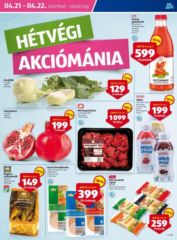 ALDI Akciós Újság 2018 04 19-04 25-ig - 23 oldal