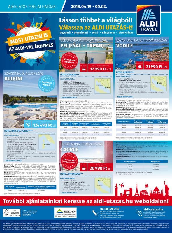ALDI Akciós Újság 2018 04 19-04 25-ig - 24 oldal