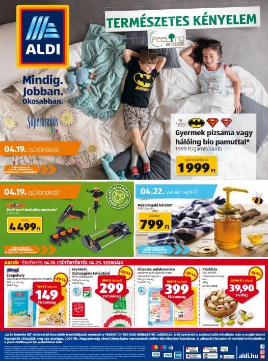 ALDI Akciós Újság 2018. 04.19-04.25-ig