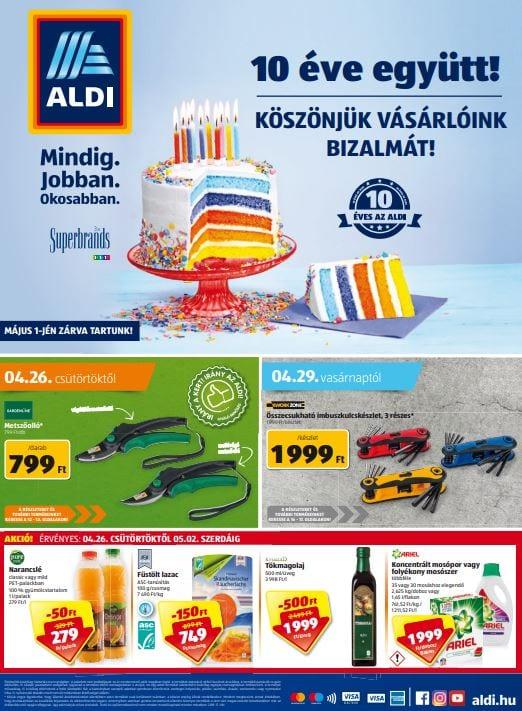 ALDI Akciós Újság 2018. 04.26-05.02-ig d9f8751ace