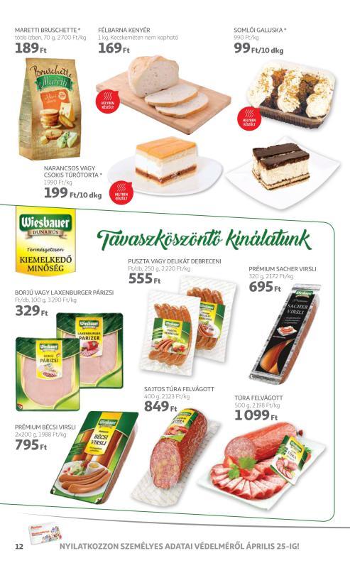 AUCHAN Akciós Újság 2018 04 12-04 18-ig - 12 oldal