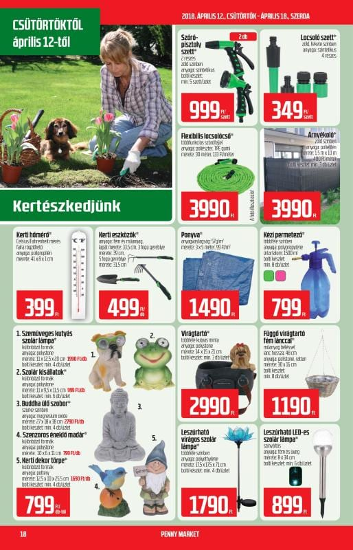 PENNY Akciós Újság 2018 04 12-04 18-ig - 18 oldal