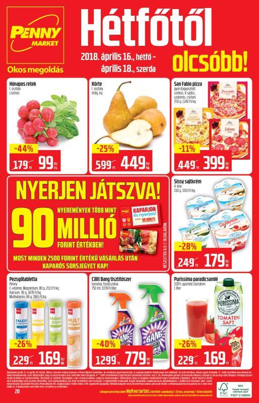 PENNY Akciós Újság 2018 04 12-04 18-ig - 20 oldal