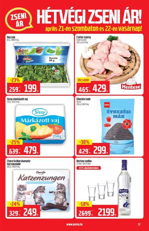 PENNY Akciós Újság 2018 04 19-04 25-ig - 17 oldal