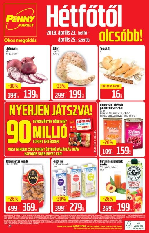 PENNY Akciós Újság 2018 04 19-04 25-ig - 20 oldal