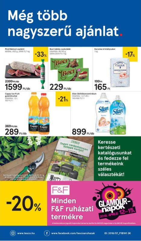 TESCO Akciós Újság 2018 04 12-04 18-ig - 16 oldal