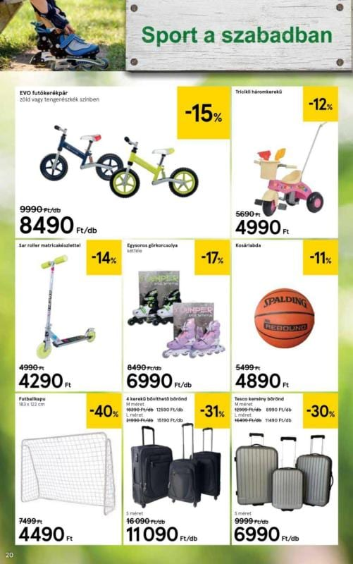 TESCO Kerti Katalógus 2018 04 04-04 25-ig - 20 oldal