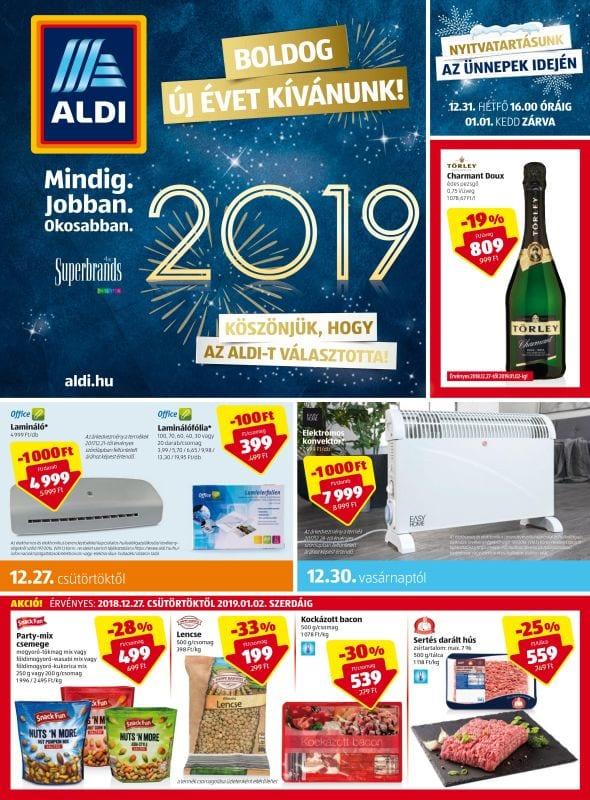 ALDI Akciós Újság 2018. 12.27-2019. 01.02-ig - Akciós Újságok Online 3f3dd3c80d
